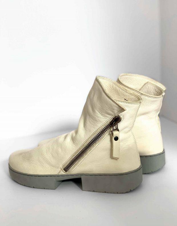 נעלי נשים - Trippen - מגפון TOURIST SPORT - לבן