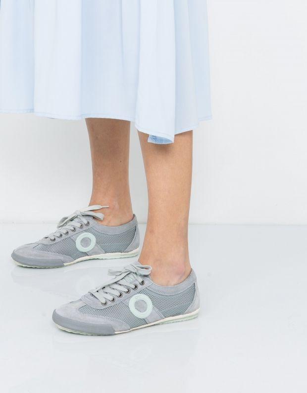 נעלי נשים - Aro - סניקרס JOANETA - אפור מנטה