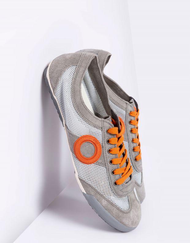 נעלי גברים - Aro - סניקרס JOANETA - אפור   כתום