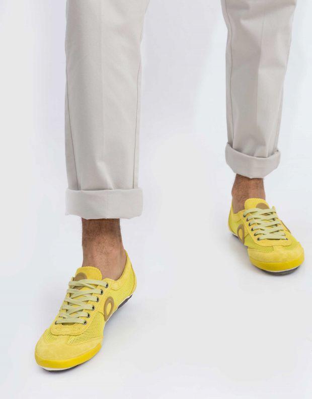 נעלי גברים - Aro - סניקרס JOANETA - צהוב