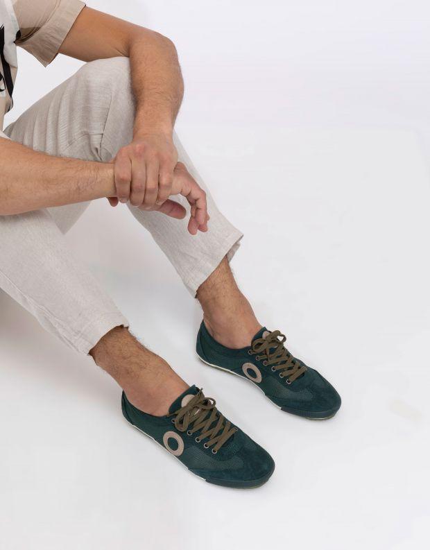 נעלי גברים - Aro - סניקרס JOANETA - ירוק
