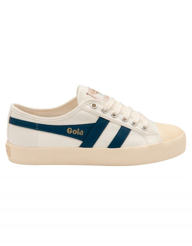 נעלי נשים - Gola - סניקרס COASTER - לבן   כחול