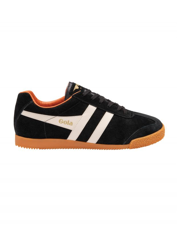 נעלי גברים - Gola - סניקרס HARRIER - שחור לבן