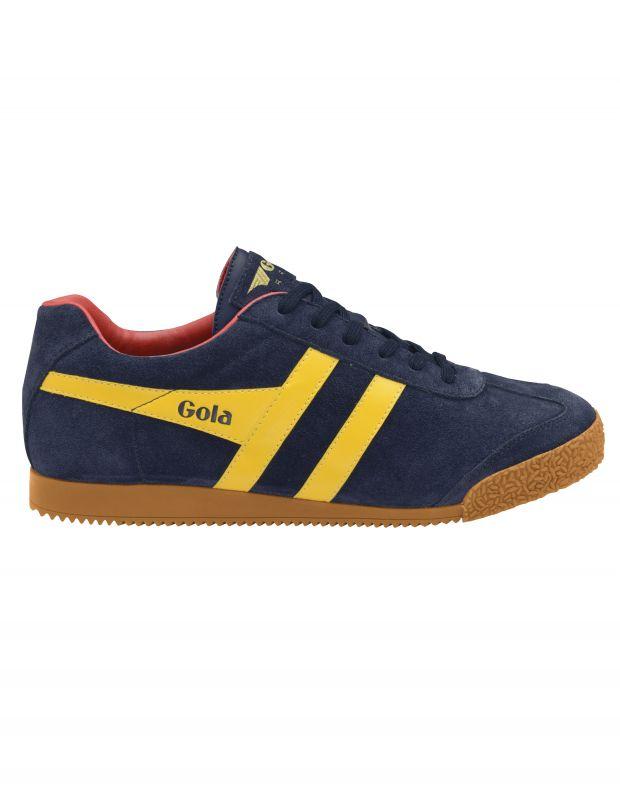 נעלי גברים - Gola - סניקרס HARRIER - כחול   צהוב