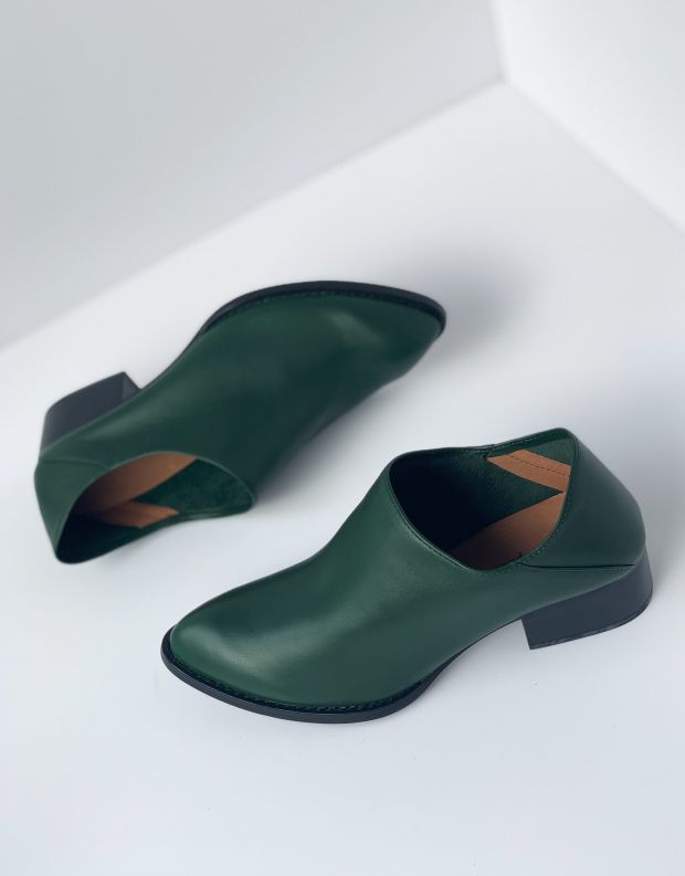 נעלי נשים - Jeffrey Campbell - נעל LEANDRO עור - ירוק
