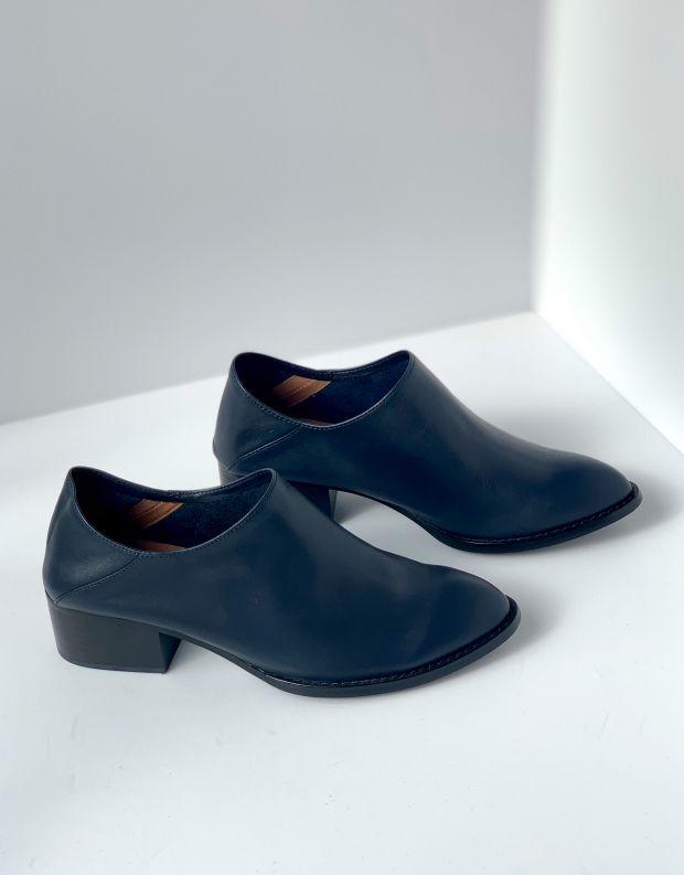 נעלי נשים - Jeffrey Campbell - נעל LEANDRO עור - כחול