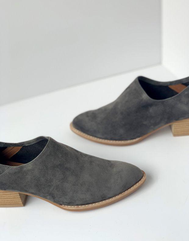 נעלי נשים - Jeffrey Campbell - נעל LEANDRO זמש - אפור