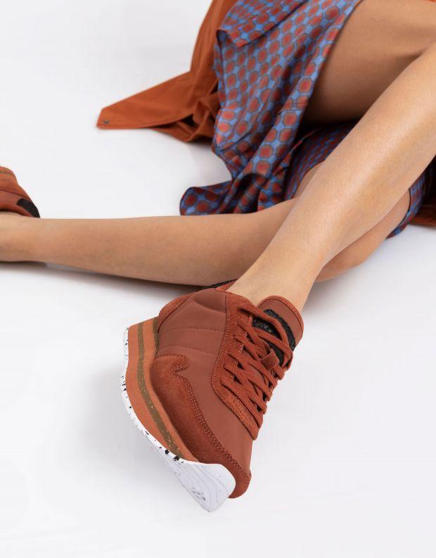 נעלי נשים - Woden - סניקרס NORA PLATEAU - חמרה