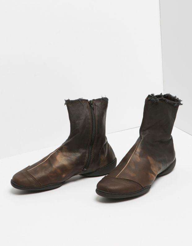 נעלי נשים - Trippen - מגפון SHADE CUP - חום   שחור