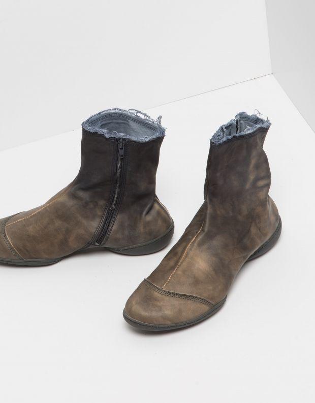 נעלי נשים - Trippen - מגפון SHADE CUP - אפור   כחול