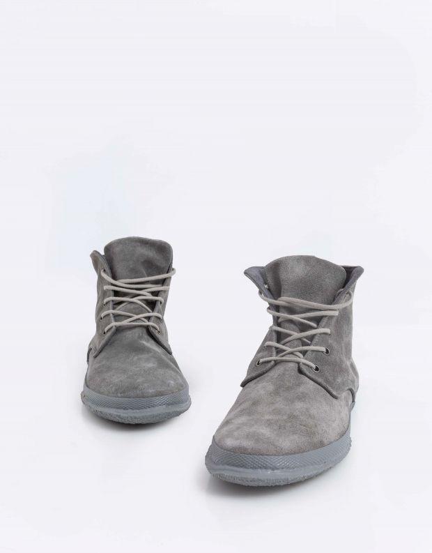 נעלי גברים - Aro - נעל גבוהה WILLY - אפור בהיר