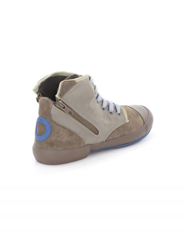 נעלי נשים - Aro - סניקרס גבוה OANA - חום