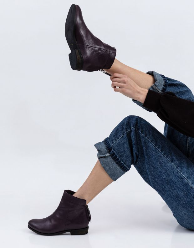 נעלי נשים - Yuko Imanishi - מגפון AOBA - סגול
