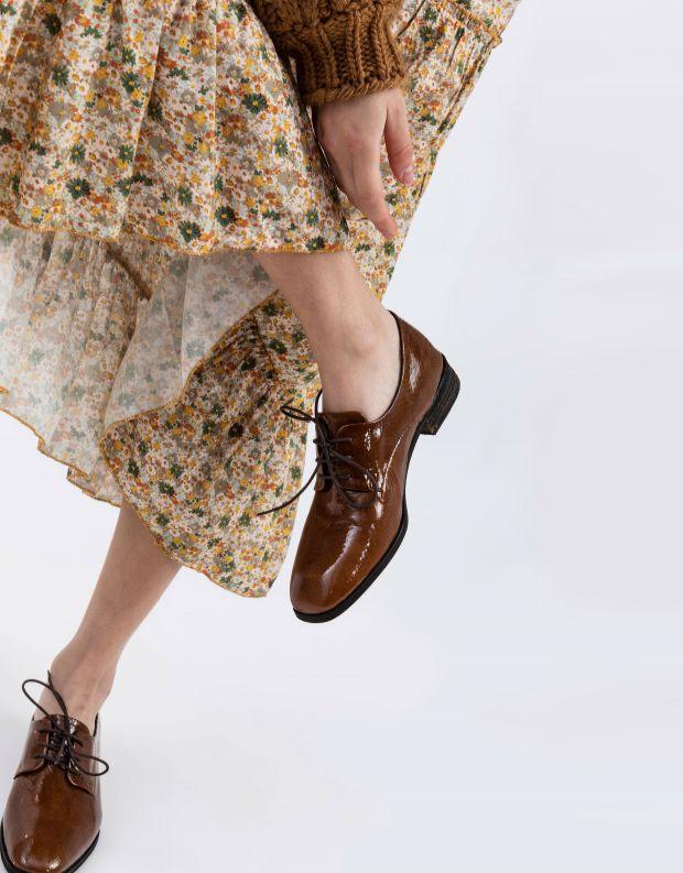 נעלי נשים - Yuko Imanishi - נעל YUU - חום בהיר