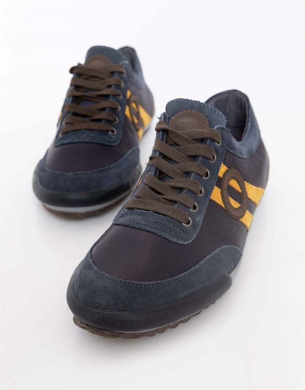 נעלי גברים - Aro - סניקרס IDO - כחול   כתום