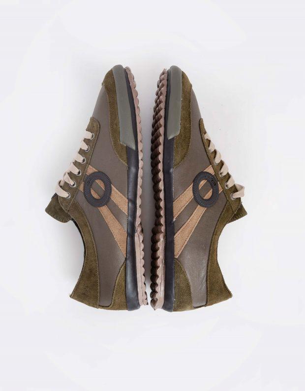 נעלי גברים - Aro - סניקרס IDO - זית