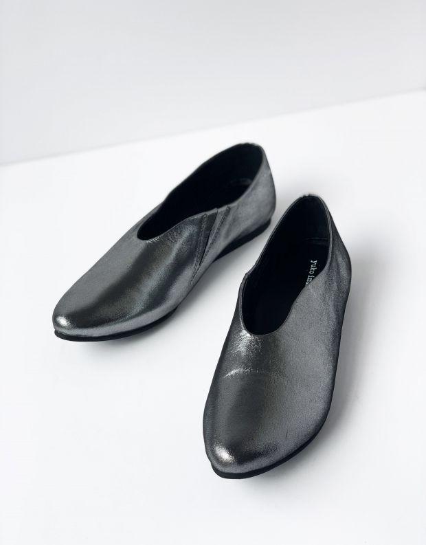 נעלי נשים - Yuko Imanishi - נעל ASUZA מבריקה - כסף