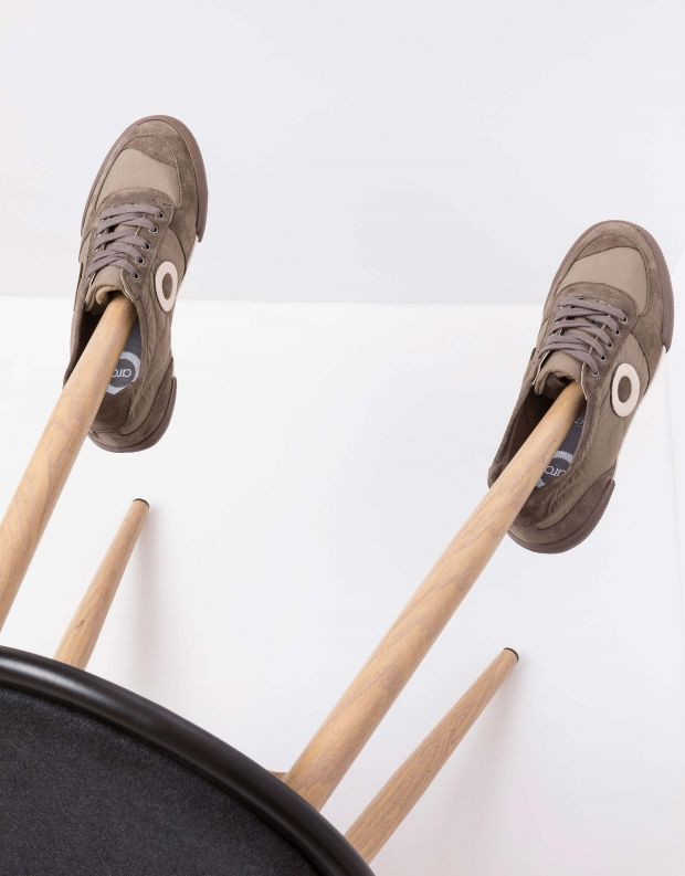 נעלי גברים - Aro - סניקרס SET - חום