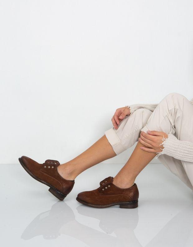 נעלי נשים - A.S. 98 - נעל LENA זמש - חום
