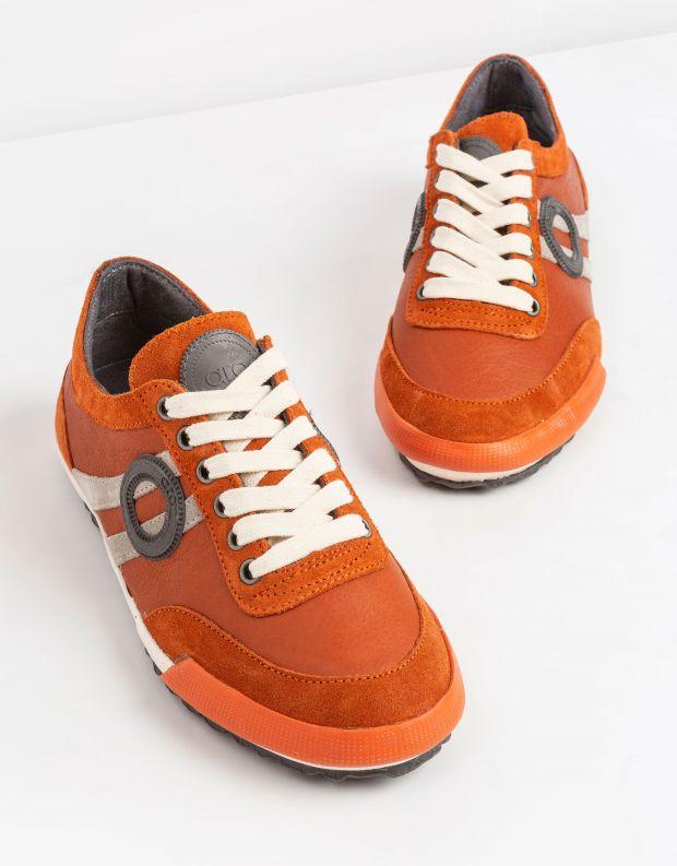 נעלי גברים - Aro - סניקרס IDO - כתום