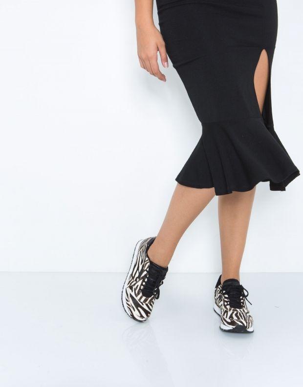 נעלי נשים - Woden - סניקרס YDUN PONY - זברה