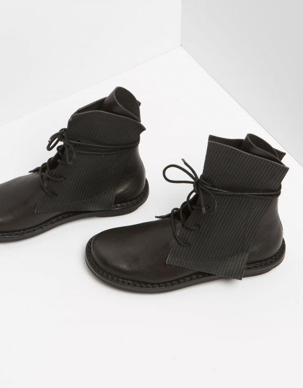 נעלי נשים - Trippen - מגפון RECTANGLE CLOSED - שחור
