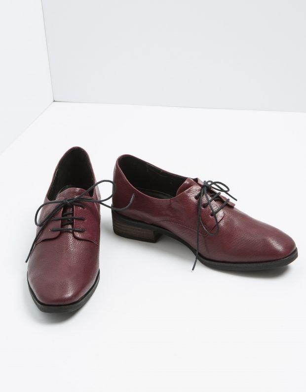 נעלי נשים - Yuko Imanishi - נעל YUU - בורדו