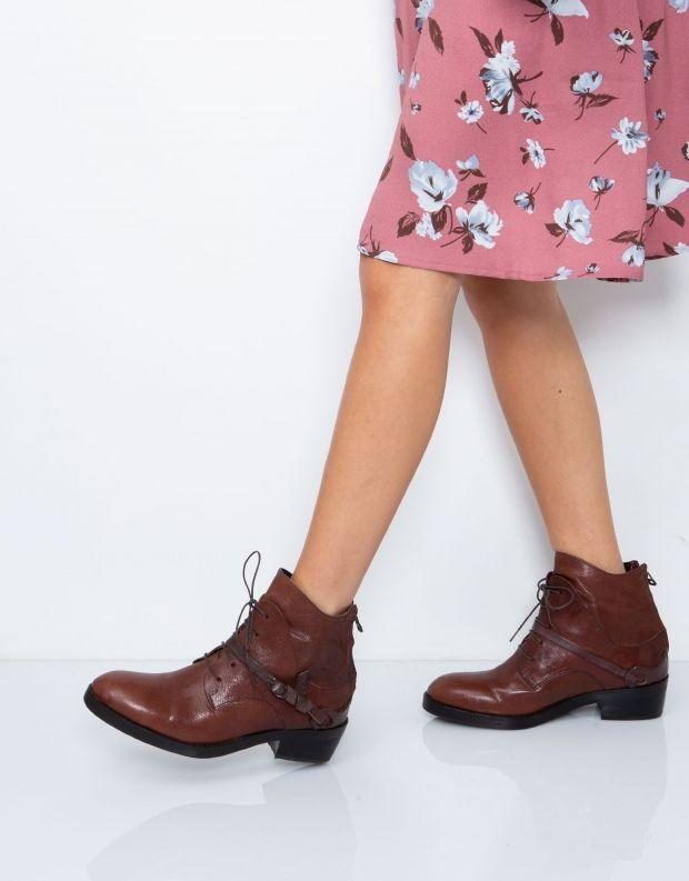 נעלי נשים - Yuko Imanishi - מגפון RYOMA - קוניאק