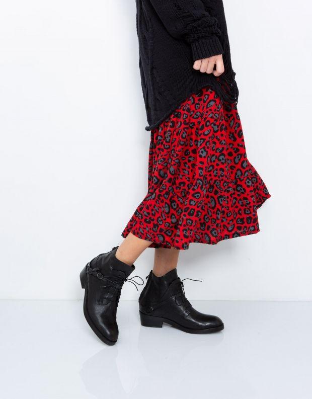 נעלי נשים - Yuko Imanishi - מגפון RYOMA - שחור