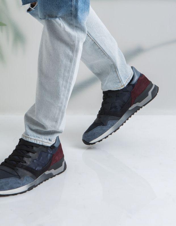 נעלי גברים - Crime London - סניקרס ESCAPE - כחול