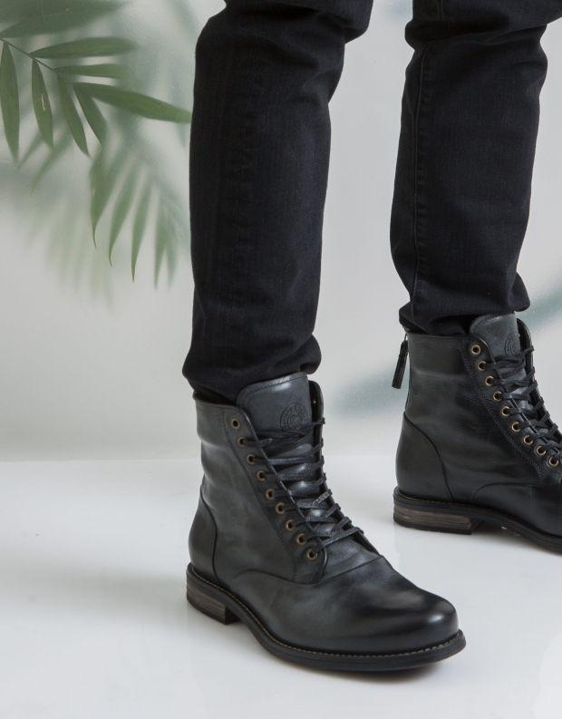 נעלי גברים - Sneaky Steve - נעליים גבוהות DELERIUS - שחור