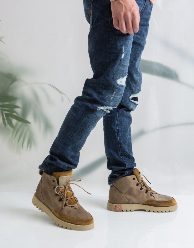 נעלי גברים - Satorisan - נעל KISO B - חאקי