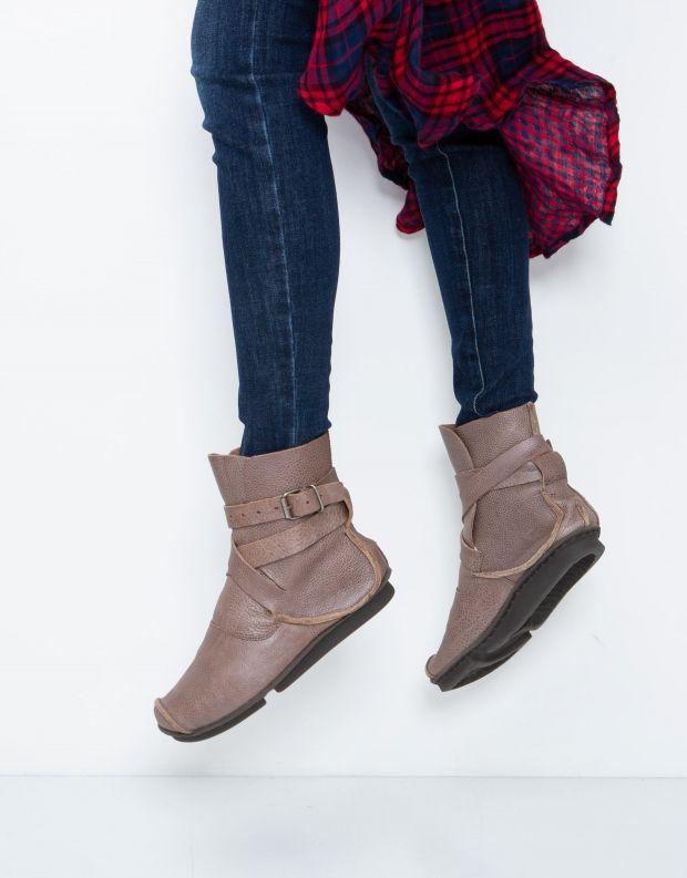 נעלי נשים - Trippen - מגפון MILD PENNA - אפור