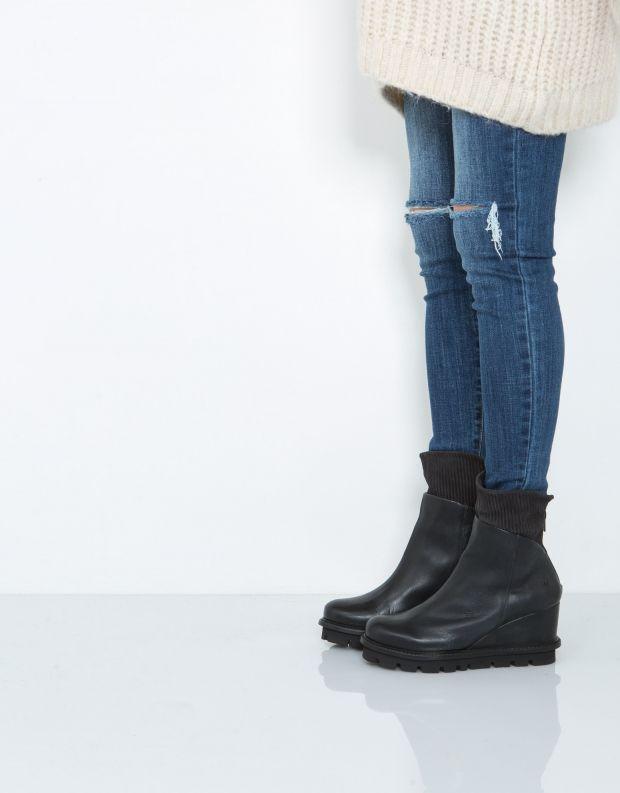 נעלי נשים - PATRIZIA BONFANTI - מגפון NANA - כחול