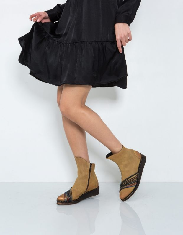 נעלי נשים - Papucei - מגפון OLIVE - קאמל
