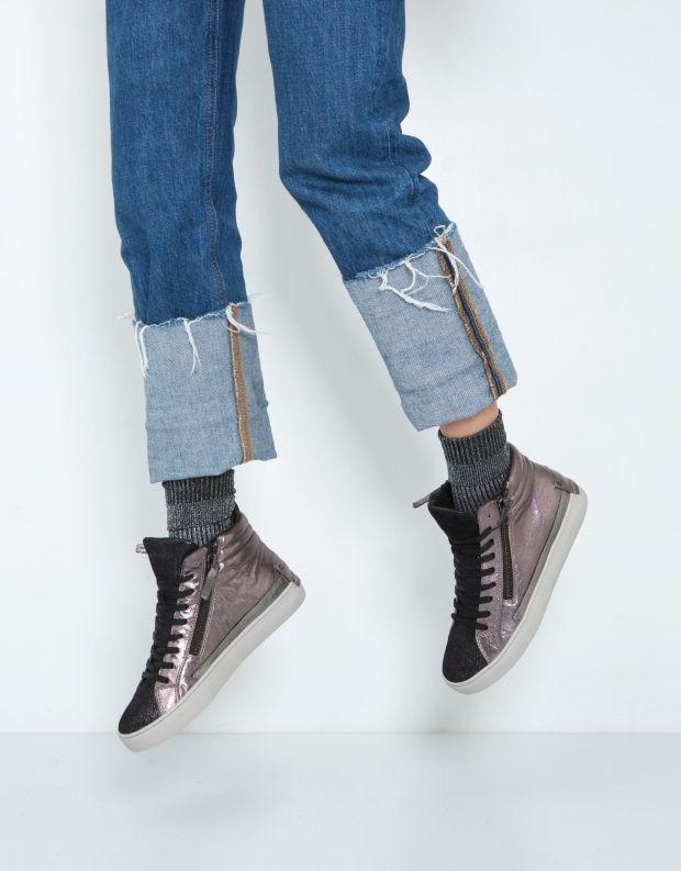 נעלי נשים - Crime London - סניקרס JAVA HI - ברונזה