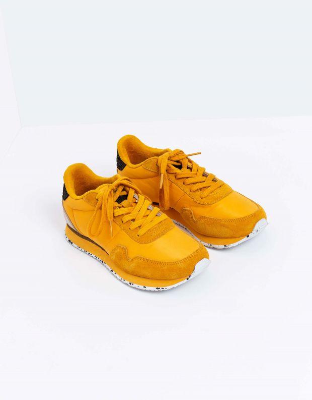 נעלי נשים - Woden - סניקרס NORA - צהוב