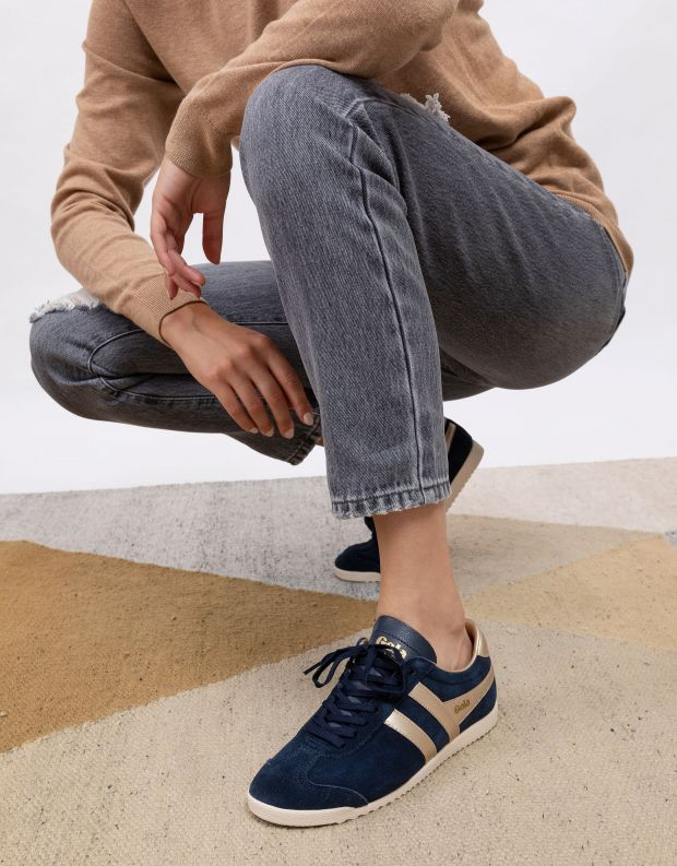נעלי נשים - Gola - סניקרס BULLET PEARL - כחול כהה