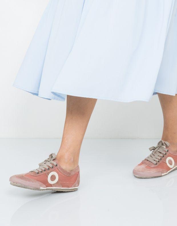 נעלי נשים - Aro - סניקרס JOANETA - ורוד עתיק
