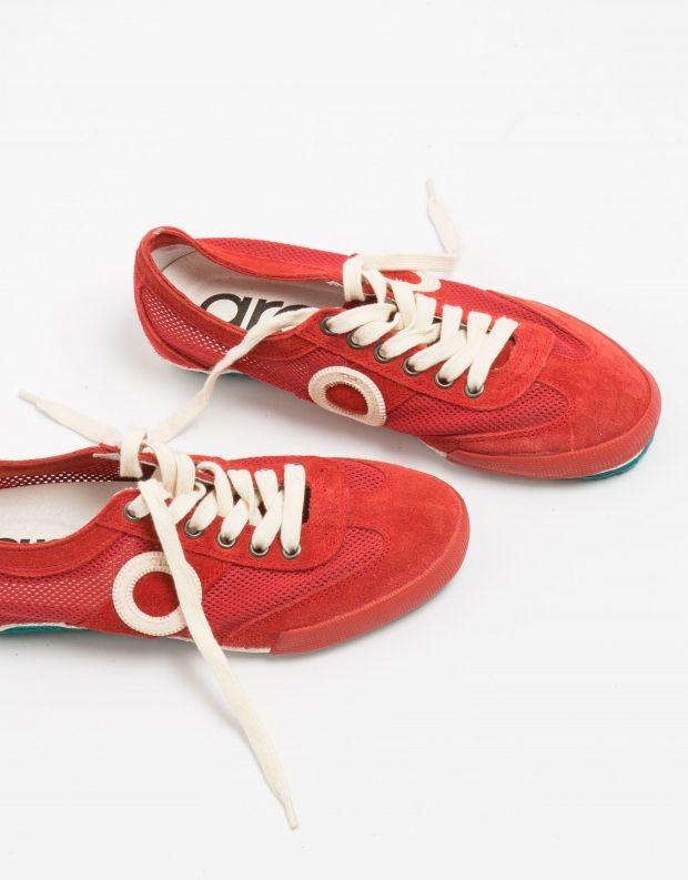נעלי נשים - Aro - סניקרס JOANETA - אדום