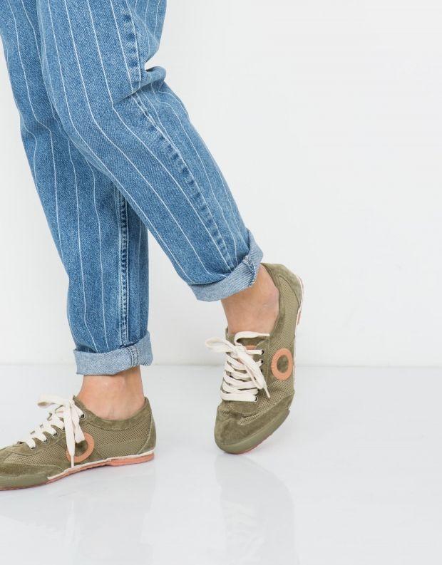 נעלי נשים - Aro - סניקרס JOANETA - זית