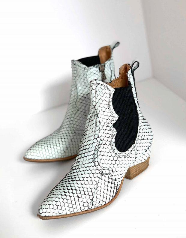 נעלי נשים - A.S. 98 - מגפון SUNS - לבן