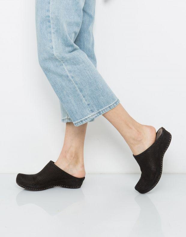 נעלי נשים - Vialis - כפכפים מחוררים LOLA - שחור