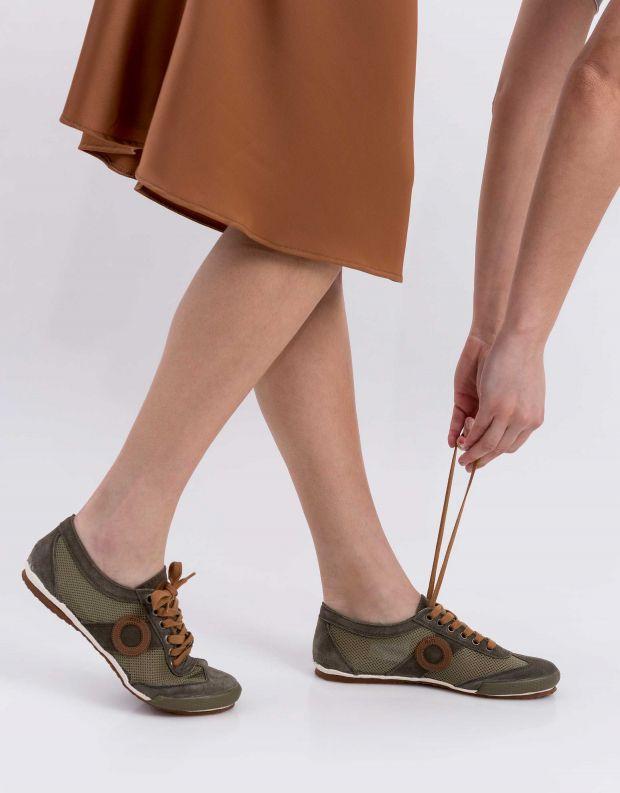 נעלי נשים - Aro - סניקרס JOANETA - חאקי