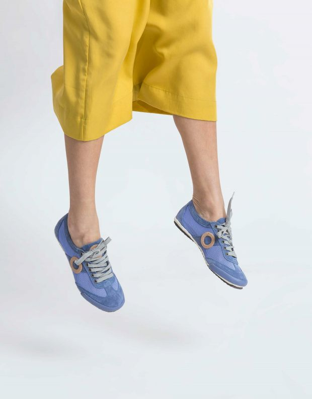 נעלי נשים - Aro - סניקרס JOANETA - תכלת   ניוד