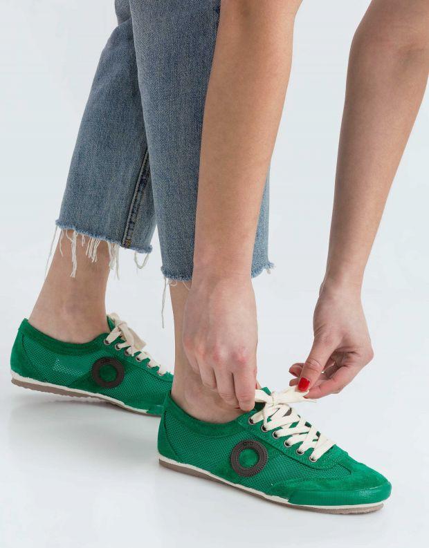 נעלי נשים - Aro - סניקרס JOANETA - ירוק   שחור