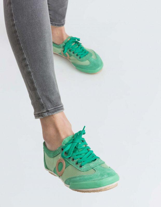 נעלי נשים - Aro - סניקרס JOANETA - ירוק בהיר