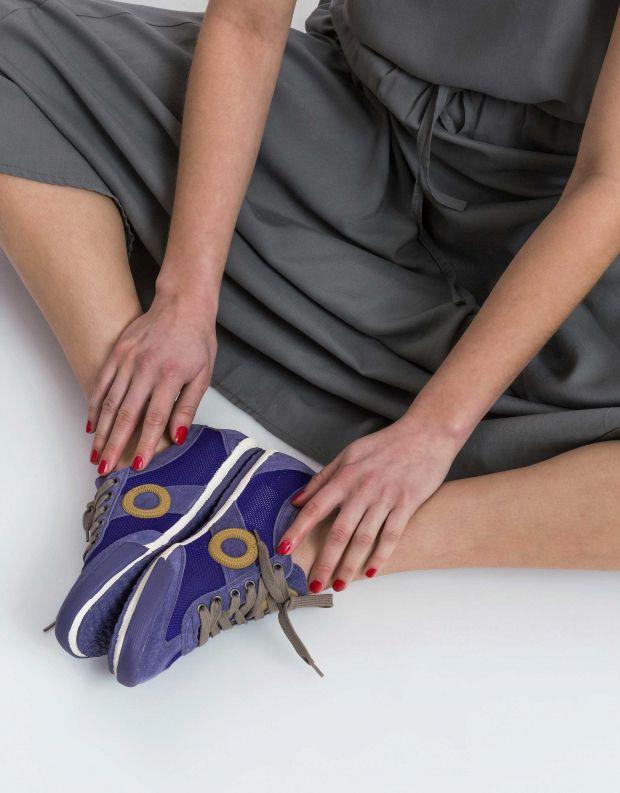 נעלי נשים - Aro - סניקרס JOANETA - סגול   חום