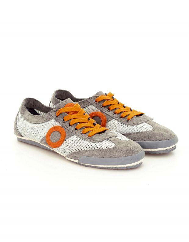 נעלי נשים - Aro - סניקרס JOANETA - אפור   כתום