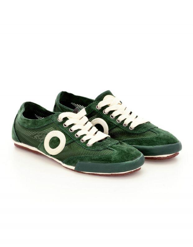 נעלי נשים - Aro - סניקרס JOANETA - ירוק   לבן